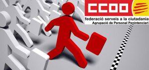 CCOO I EL PROCÉS SELECTIU PER LA BORSA D'INTERINS 15.11.17