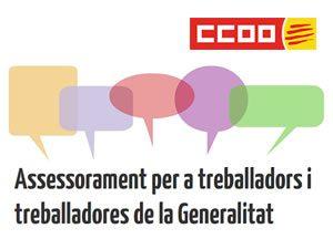 Assessorament per a treballadors i treballadores de la Generalitat
