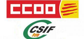 CCOO, CATAC, CSIF I UGTPRESONS, ACONSEGUIM PRORROGAR EL PRP PER A L'ANY 2019